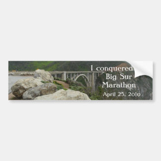 Big Sur Marathon Bumper Sticker