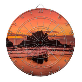 Big Sur Sunset Dartboard