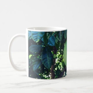 Big tangerine coffee mug