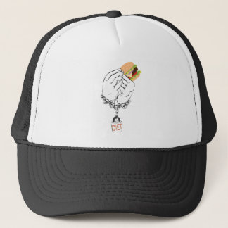 Big Tasty Burger and Hands Trucker Hat