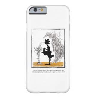BIG THING cartoon by Ellen Elliott Barely There iPhone 6 Case