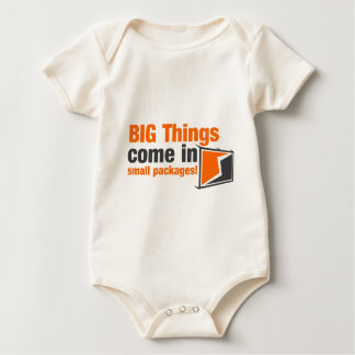 BIG Things Come In Small Packages Baby Bodysuit