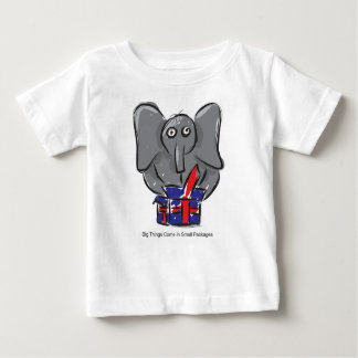 Big Things Come In Small Packages - Baby top T Shirts