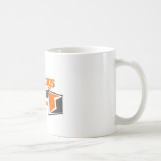 BIG Things Come In Small Packages Basic White Mug
