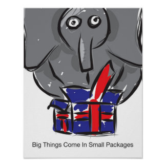 Big Things Come In Small Packages Poster