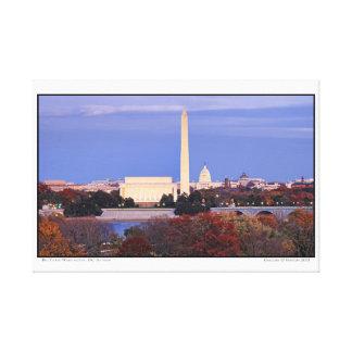 Big Three- Washington, DC- Autumn Canvas Print