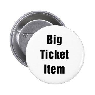 Big Ticket Item 6 Cm Round Badge