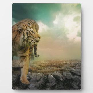 Big Tiger Plaque