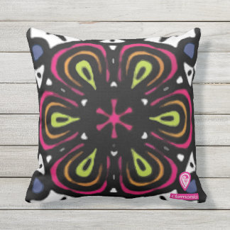 Big to flower outdoor cushion