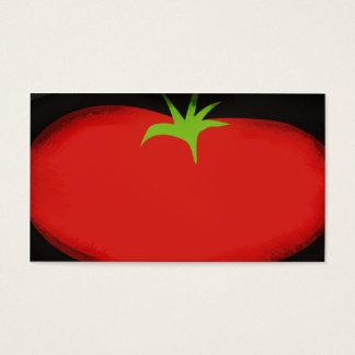 Big tomato fruit vegetable business card