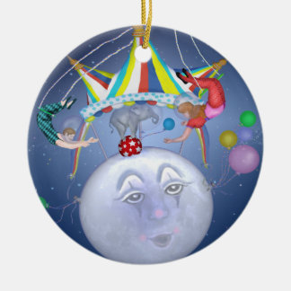 Big Top on a Little Blue Moon Ornament