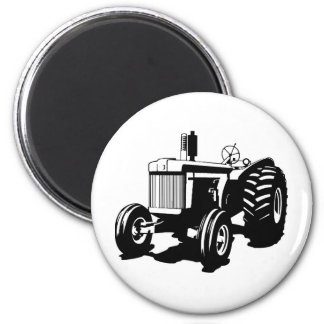 Big Tractor 6 Cm Round Magnet