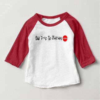 Big Trip To Japan Baby Romper 3/4 Sleeve Raglan T Baby T-Shirt