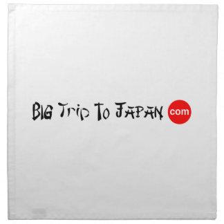 Big Trip To Japan Cloth Napkins (set of 4) dinner