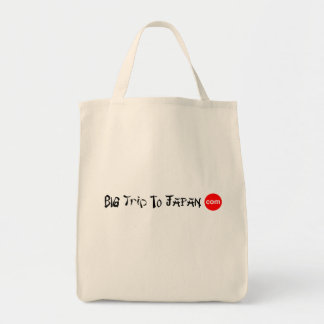 Big Trip To Japan Grocery Tote