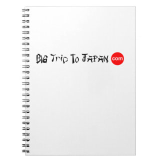 Big Trip To Japan Photo Notebook (80 Pages B&W)