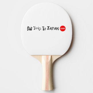 Big Trip To Japan Ping Pong Paddle