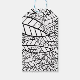 big tropical gift tags