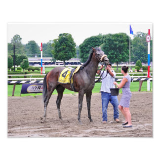 Big Trouble wins the 100th Sanford Stakes Photograph