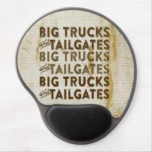 Big Trucks and Tailgates Gel Mouse Pads