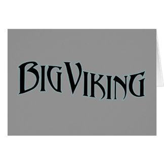 Big Viking Card