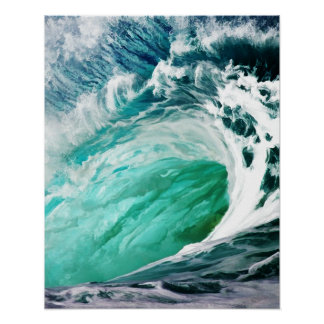 Big Wave Keeps on Rolling Poster