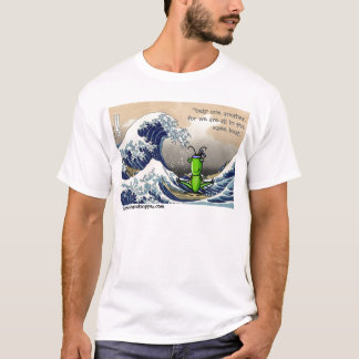 Big wave, little grasshopper T-Shirt