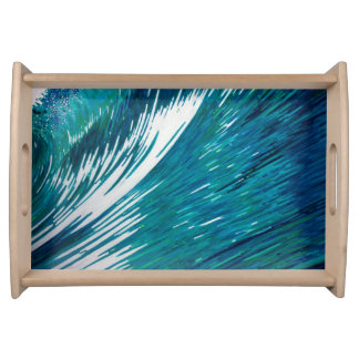 Big Wave Serving Tray in 2 sizes by Margaret Juul