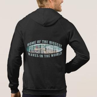 Big wave surfing hoodie
