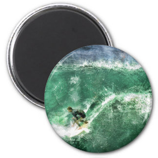Big Wave Surfing Magnet