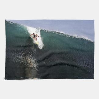 Big wave surfing tropical paradise surf towel