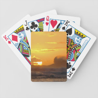 Big Waves - Ke'e Beach - Kauai Hawaii Bicycle Poker Cards