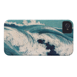 Big Waves - Uehara Konen iPhone 4 Covers