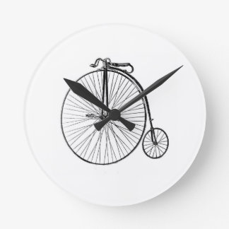 Big Wheel Bicycle Wallclock