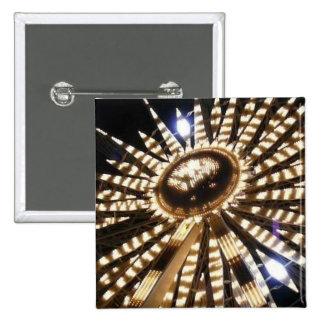 Big Wheel Christmas Star Pinback Button