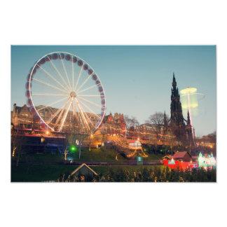 Big Wheel in Edinburgh Photo Print