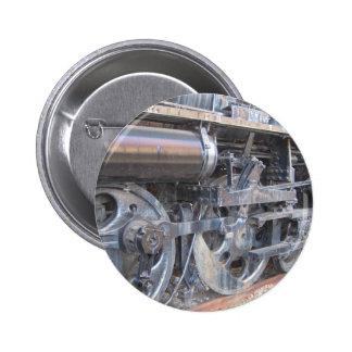 Big Wheels of a Iron Horse Steam Train Engine Pins
