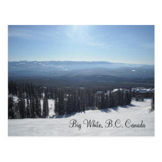 Big White, B.C. Canada Postcard