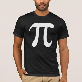 Big white pi symbol t-shirt