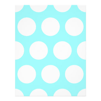 Big White Polka Dots Flyer