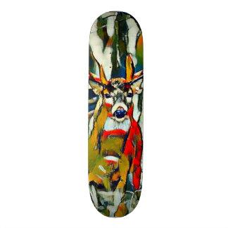 Big Whitetail Buck Outdoors Acrylic Park Board Skate Board Decks