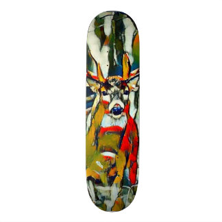 Big Whitetail Buck Outdoors Acrylic Park Board Skateboard Deck