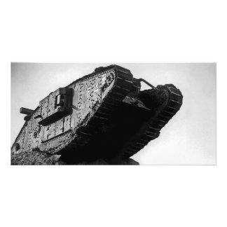 Big World War I Tank Mk IV Female F4 Flirt II Photo Greeting Card