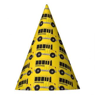 Big Yellow School Bus Education Teacher Bus Driver Party Hat