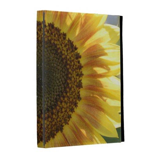 Big Yellow Sunflower iPad Folio Covers