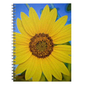Big Yellow Sunflower Notebooks