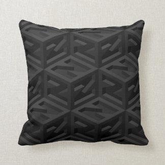 Big Z Cube Isometric Reversible Cushion