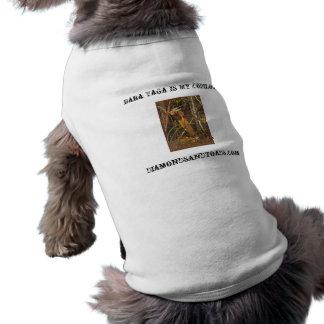 bigbaba, Baba Yaga Is My Copilot!, Diamondsandt... Sleeveless Dog Shirt