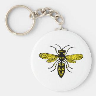 bigbee basic round button key ring