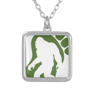BIGFOOT2 SILVER PLATED NECKLACE